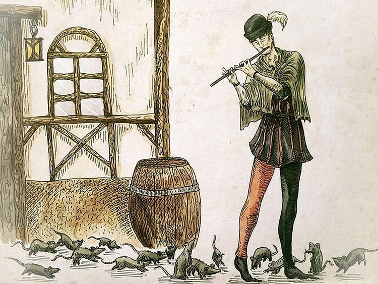 Подлинная история Гамельнского Крысолова
