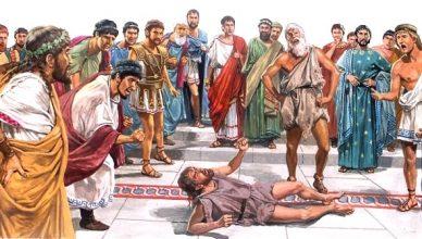 Любовники геи – убийцы тиранов в древних Афинах