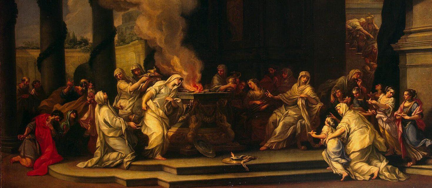 о дне жертвоприношений в дохристианском Риме