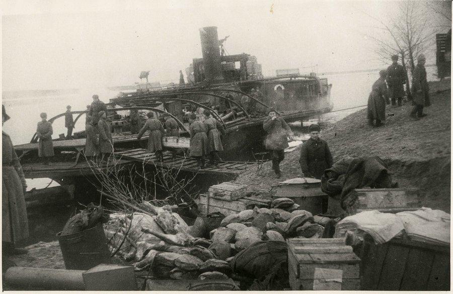 наступлений врага на Сталинград
