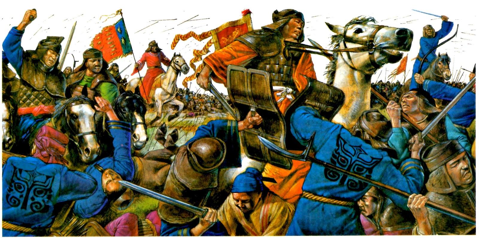 кочевники хунну не давали спокойно жить китайцам и монголам
