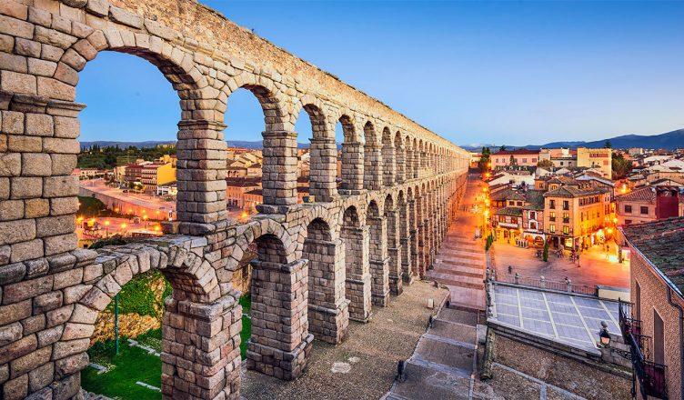 Акведук, Испания