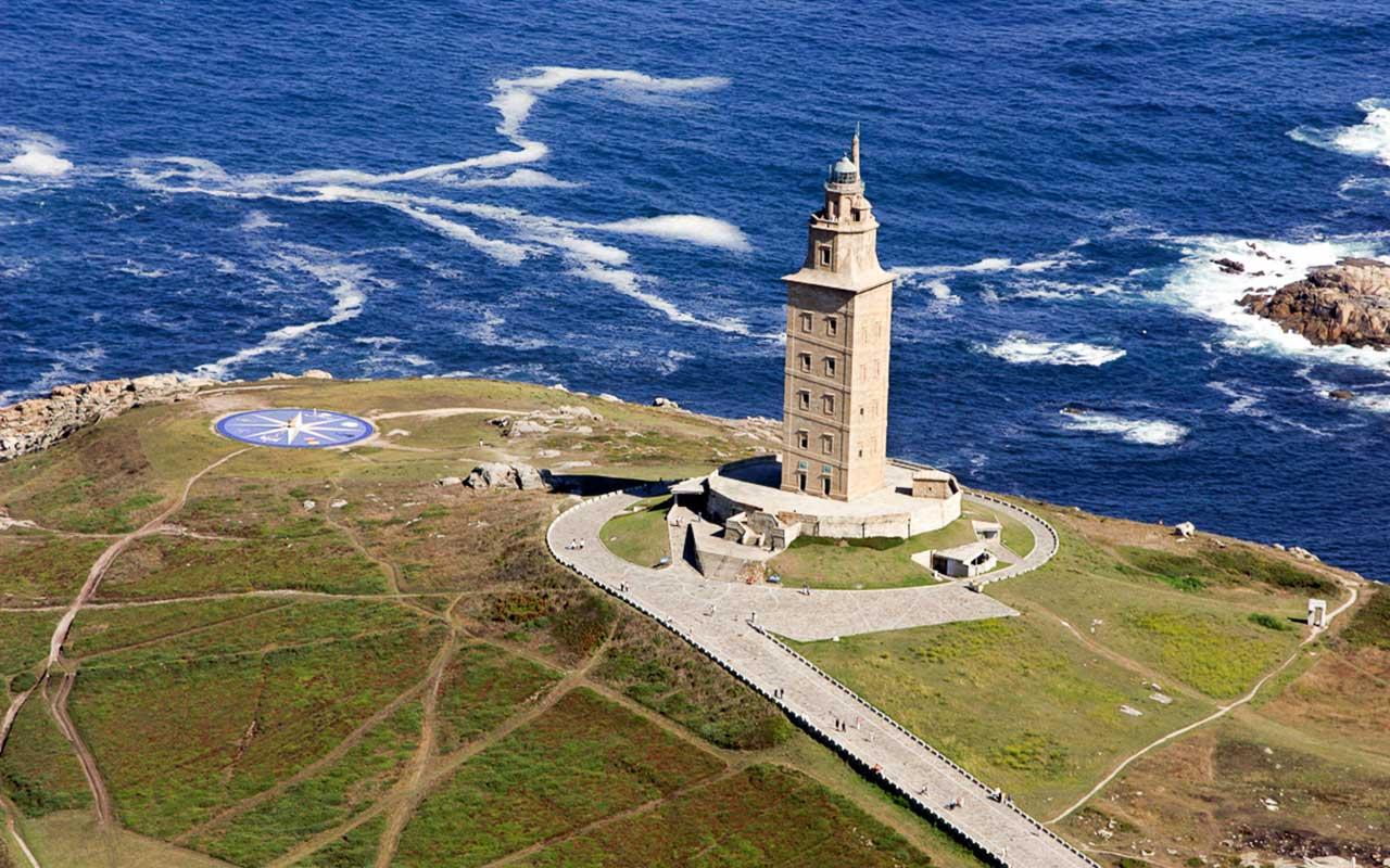Башня Геркулеса, полуостров Галисия, Испания