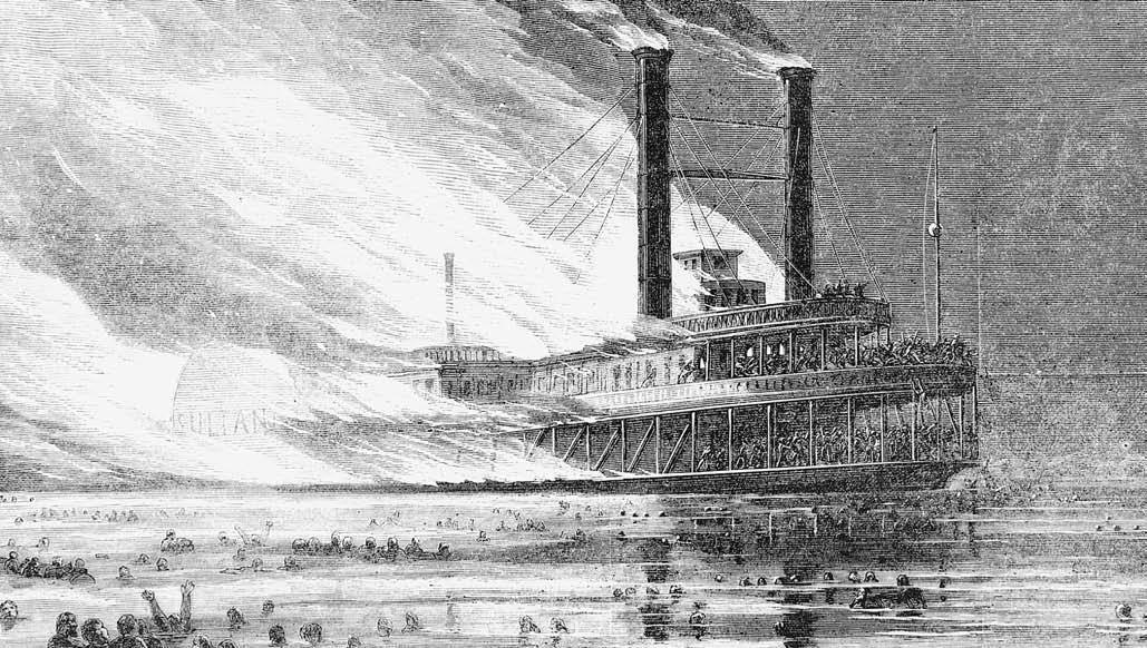США, пароход СС Султана