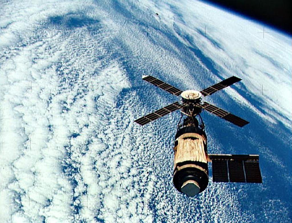 США, космическая станция Скайлэб