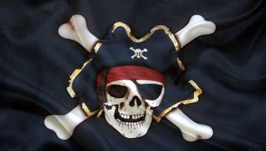 Весёлого Роджера, главного символа пиратов