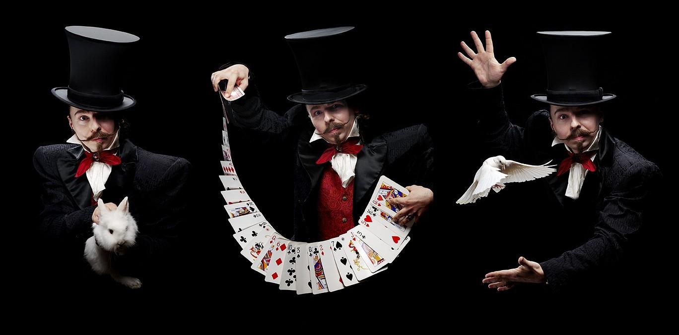 История магических иллюзий и фокусов