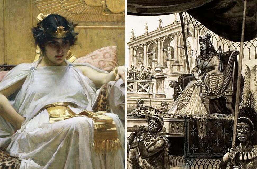 Что стало с потомками Клеопатры после ее смерти