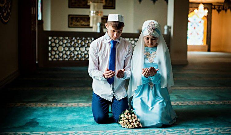 Мусульманский свадебный обряд