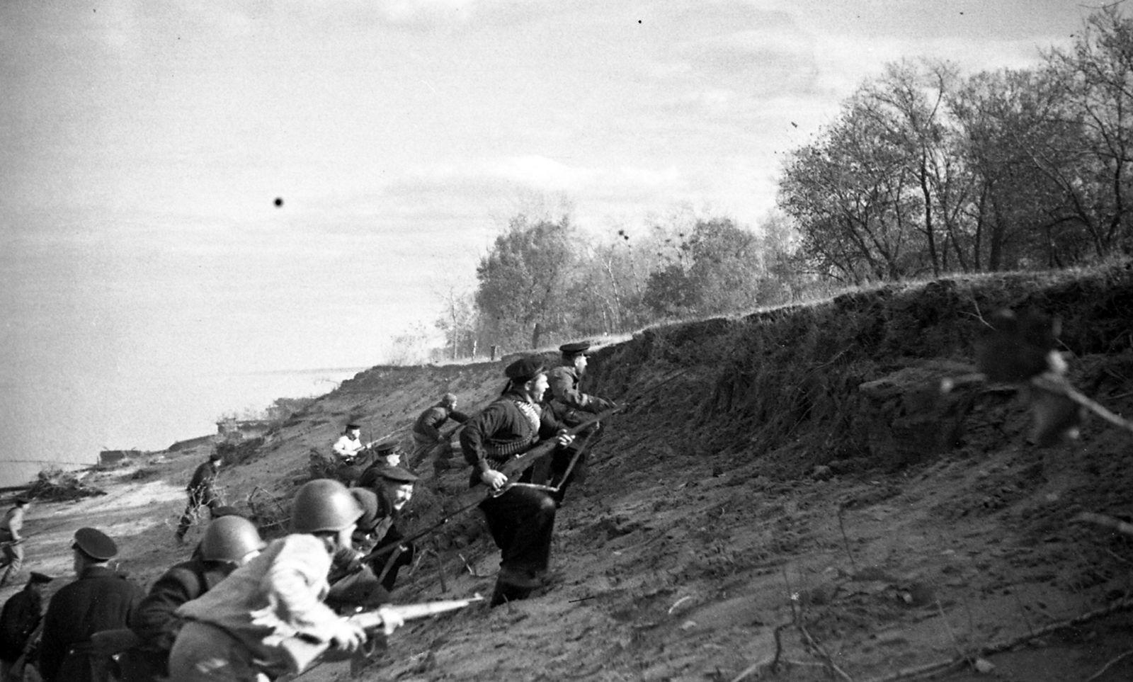 Крепость духа советских бойцов