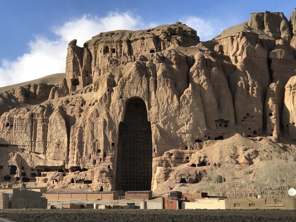 Пещерные жилища Бамиан, Афганистан