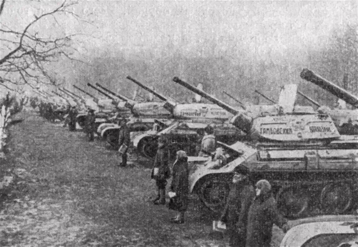Как появилась танковая колонна «Колхозник Северной Осетии»