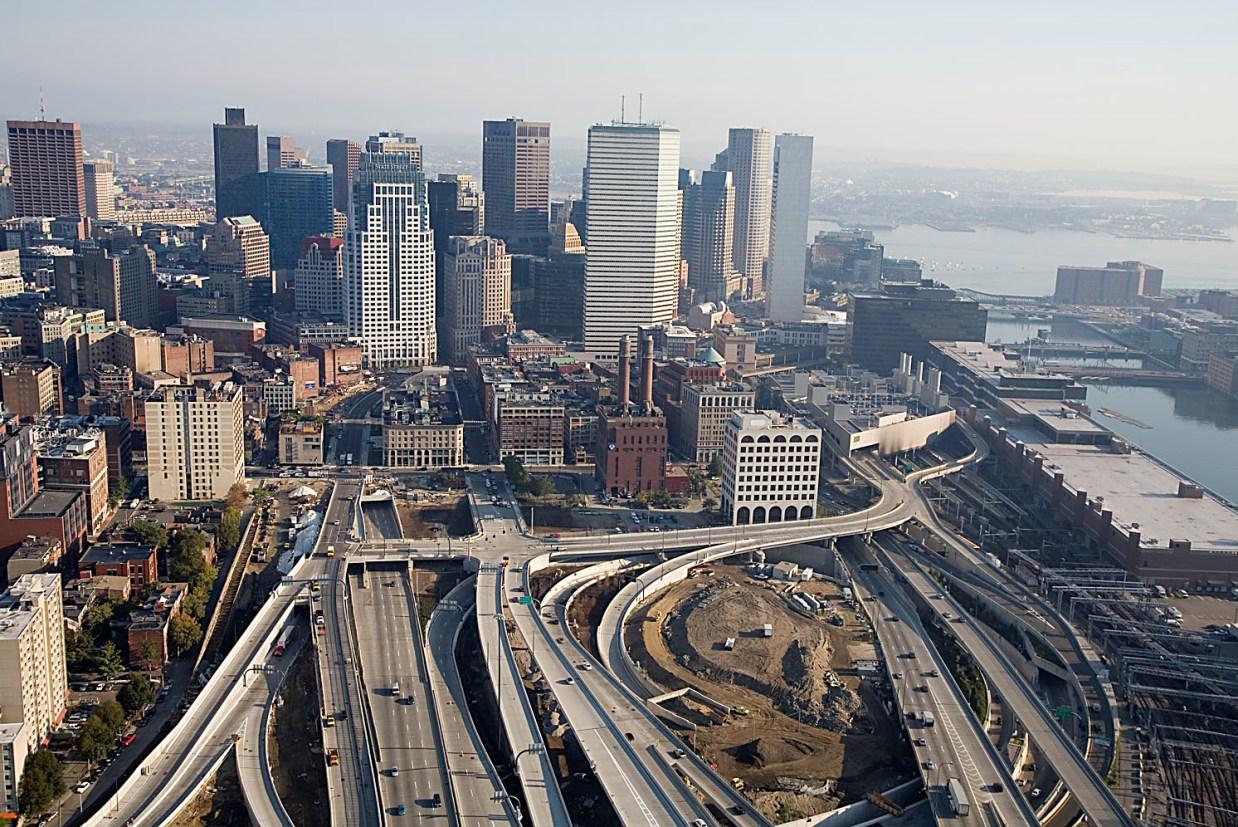 США, Большой Бостонский тоннель