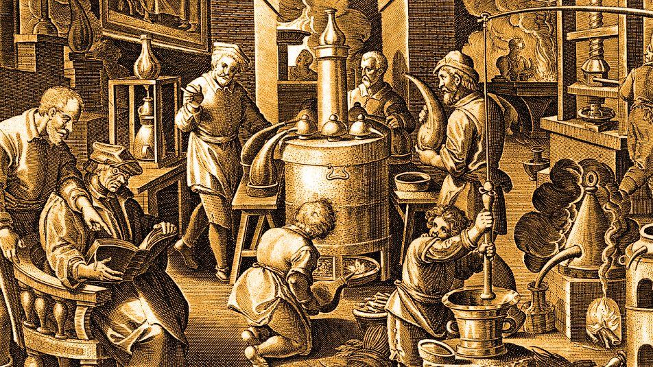 наука алхимия появилась одновременно в разных уголках древнего мир