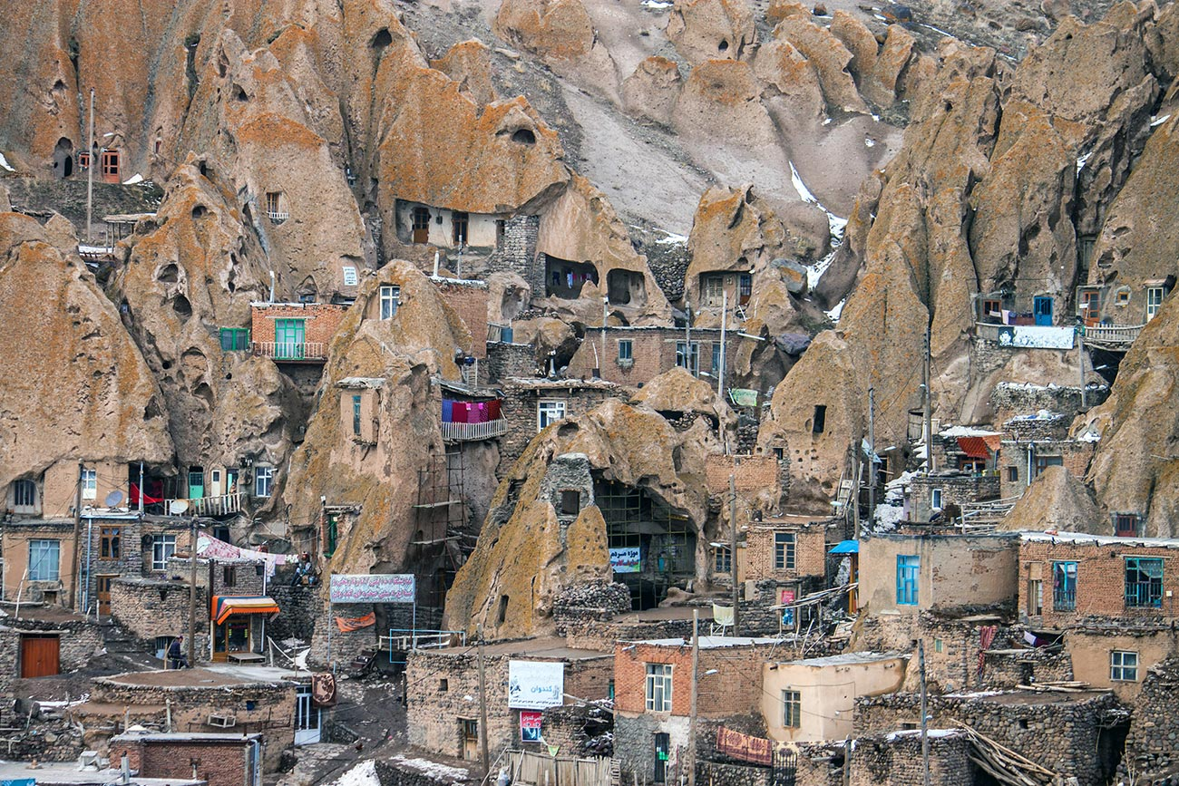 Загадочная деревня Кандован, Иран