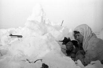 донести снаряды по пояс в снегу?
